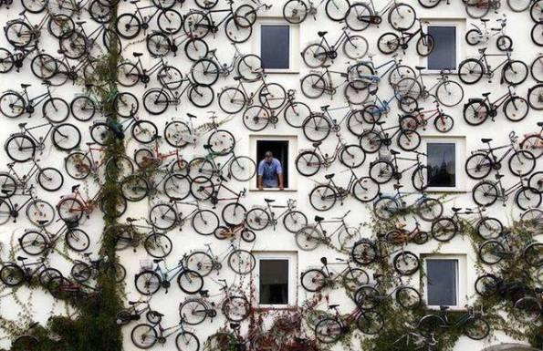 bici parete